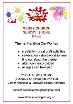 Messy Church Invite