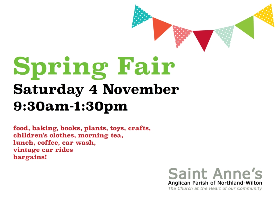 Spring Fair poster Facbook 2017