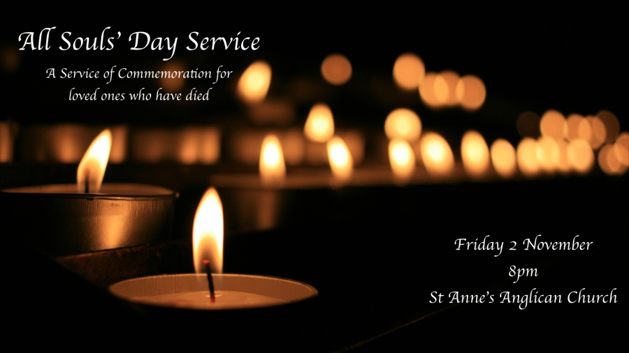 All Souls' Day Service advertising 2018.001